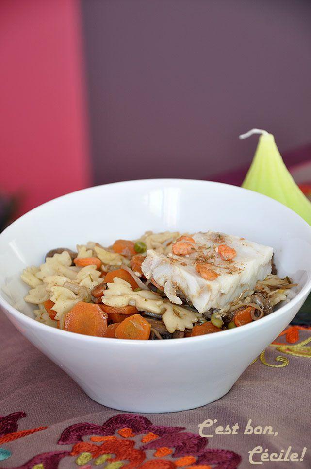 Presqu'un &quot&#x3B;Patasotto&quot&#x3B; aux légumes et épices chinoises aux crevettes/cabillaud ou au poulet (2 versions)