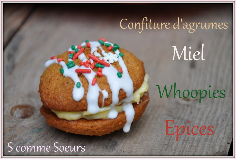 Whoopies 'Pain d'épices""
