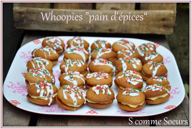 Whoopies 'Pain d'épices&quot&#x3B;