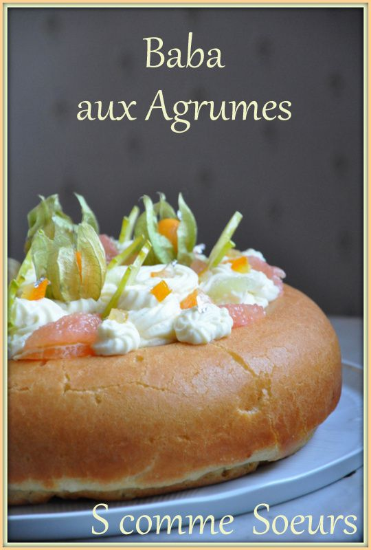 Baba aux agrumes