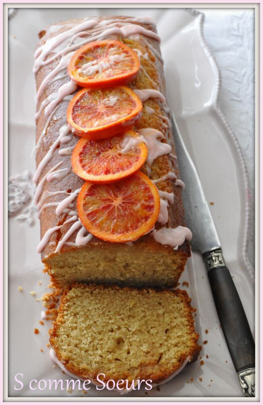 Cake Orange Sanguine Bergamote