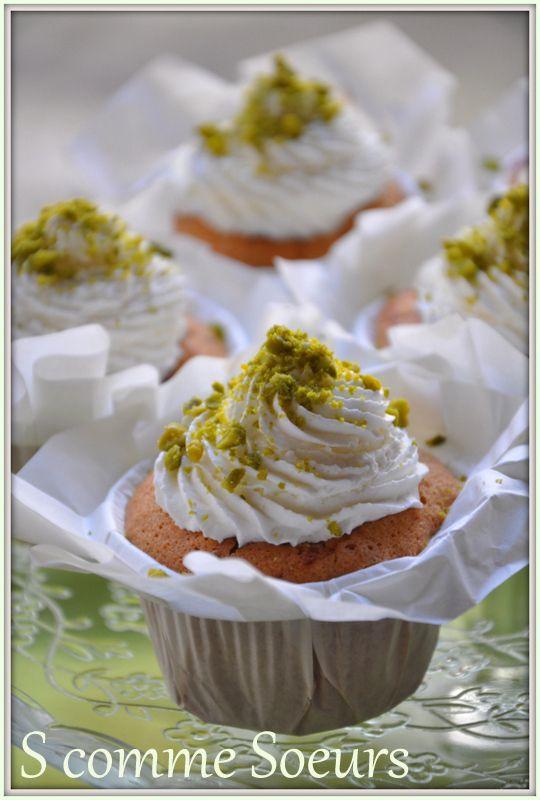 Mini visitandines façon cupcake