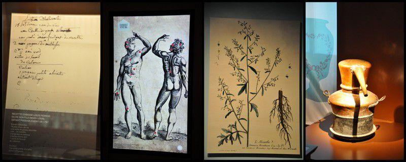 Au moyen-âge, la plante d'absinthe était utilisée en médecine pour soigner de nombreux maux, notamment comme antispasmodique.