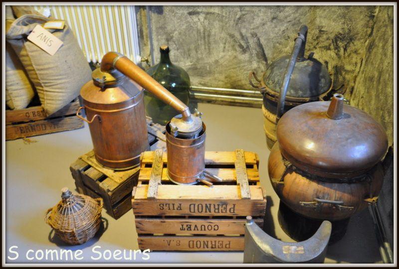 La maison de l'absinthe de Môtiers en Suisse