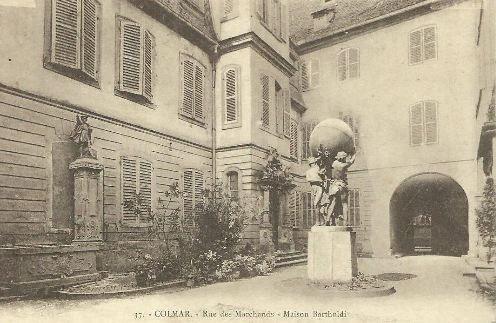 Maison natale d'Auguste  Bartholdi