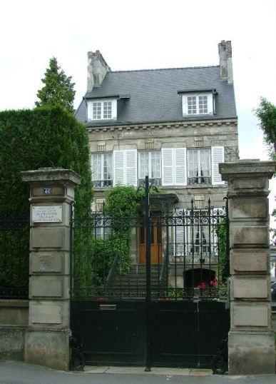 Maison natale d'Alexandre Dumas  (Cliché Propriété Office de Tourisme de Villers-Cotterêts).