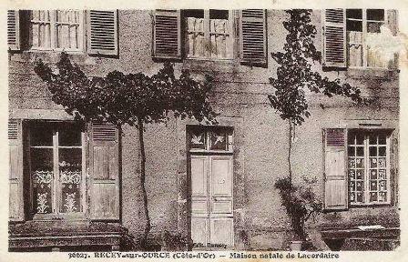 Maison natale de Jean Baptiste Lacordaire