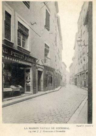 Maison natale d'Henri BEYLE