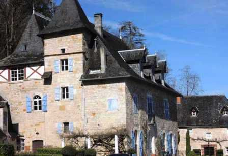 Château de Muzac où naquit Maurice Colrat de Montrozier