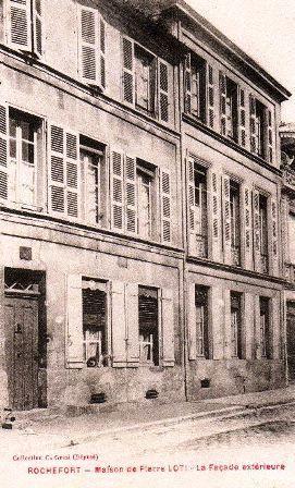 Maison natale de Pierre Loti