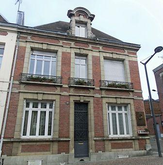 Maison à l'emplacement de celle où naquit Charles Rogier  (Crédit Photo : A.R.)