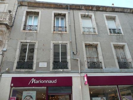 Maison natale de Jean Vilar  (Photo : Mme Monique Laloue)