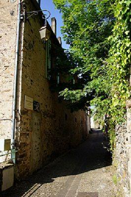 Maison natale d'Alain Peyrefitte  (Crédit photo : D. Lhomme, pour l'Office de Tourisme de Najac) Avec nos remerciements.