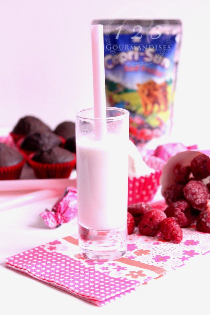 Smoothie Lacté aux fruits rouges de Capri-sun