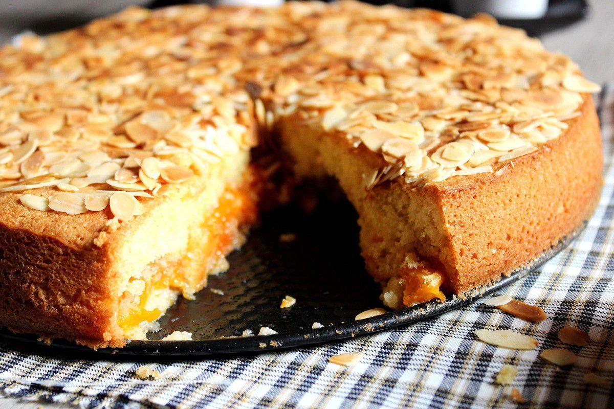 Gâteau nuage Amandes et abricot