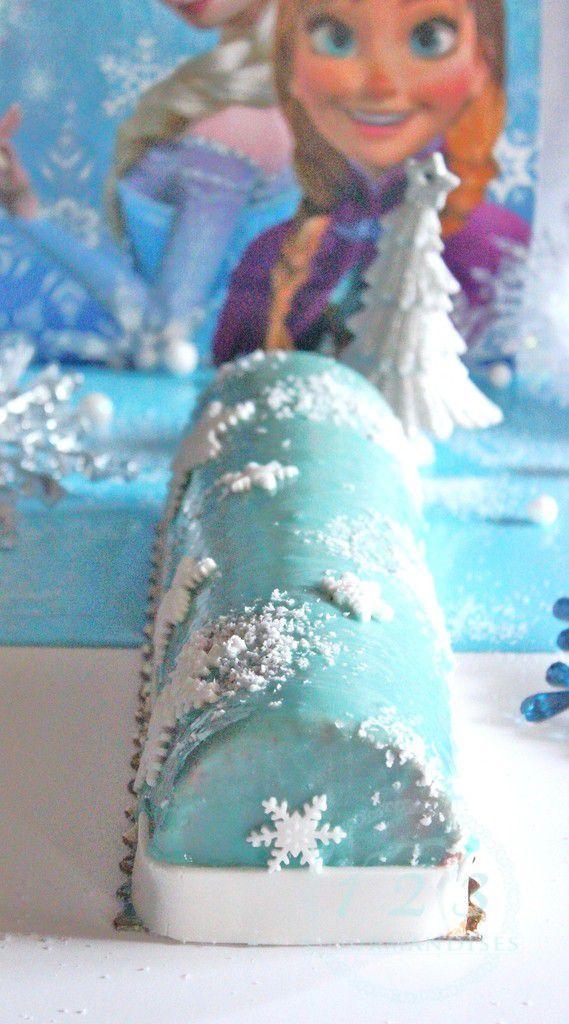Buche reines des neiges Citron-Framboise