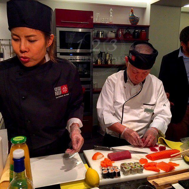 Kelly Choï et Chef  Yamamoto