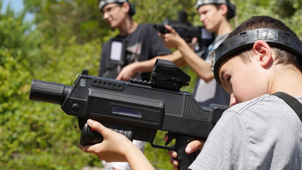 Le laser Tag, du laser game en plein air