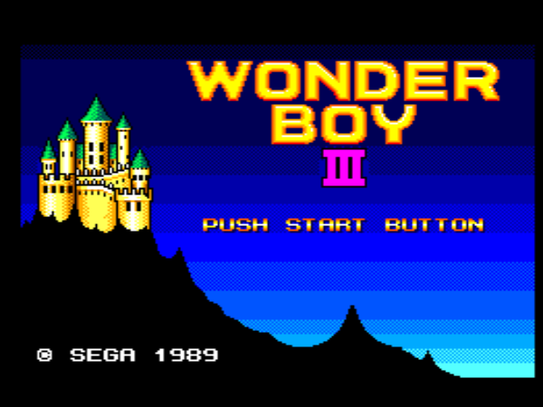 Maxou's Review #5 Wonder Boy 3 – The Dragon's Trap (Master System)