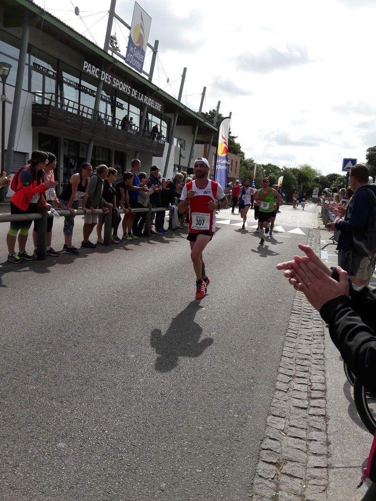 Semi marathon  des Sables d'Olonnes : Tous dans le même bateau
