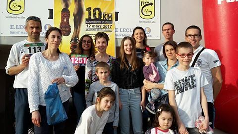 10 km de st medard Richard bat son record au 10 km