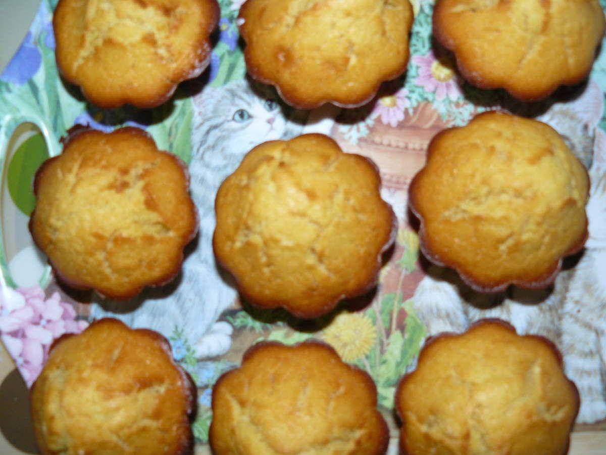 Muffins avec la recette de base