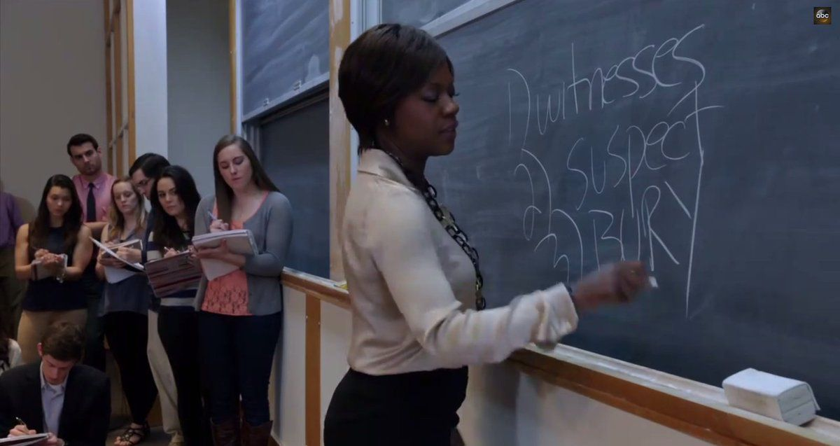 How to get away with murder, la nouvelle série qui casse les codes du genre.