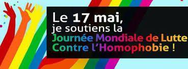 17 mai 2017 : plusieurs moments pour soutenir la Journée mondiale de lutte contre l'homophobie et la transphobie à PAU