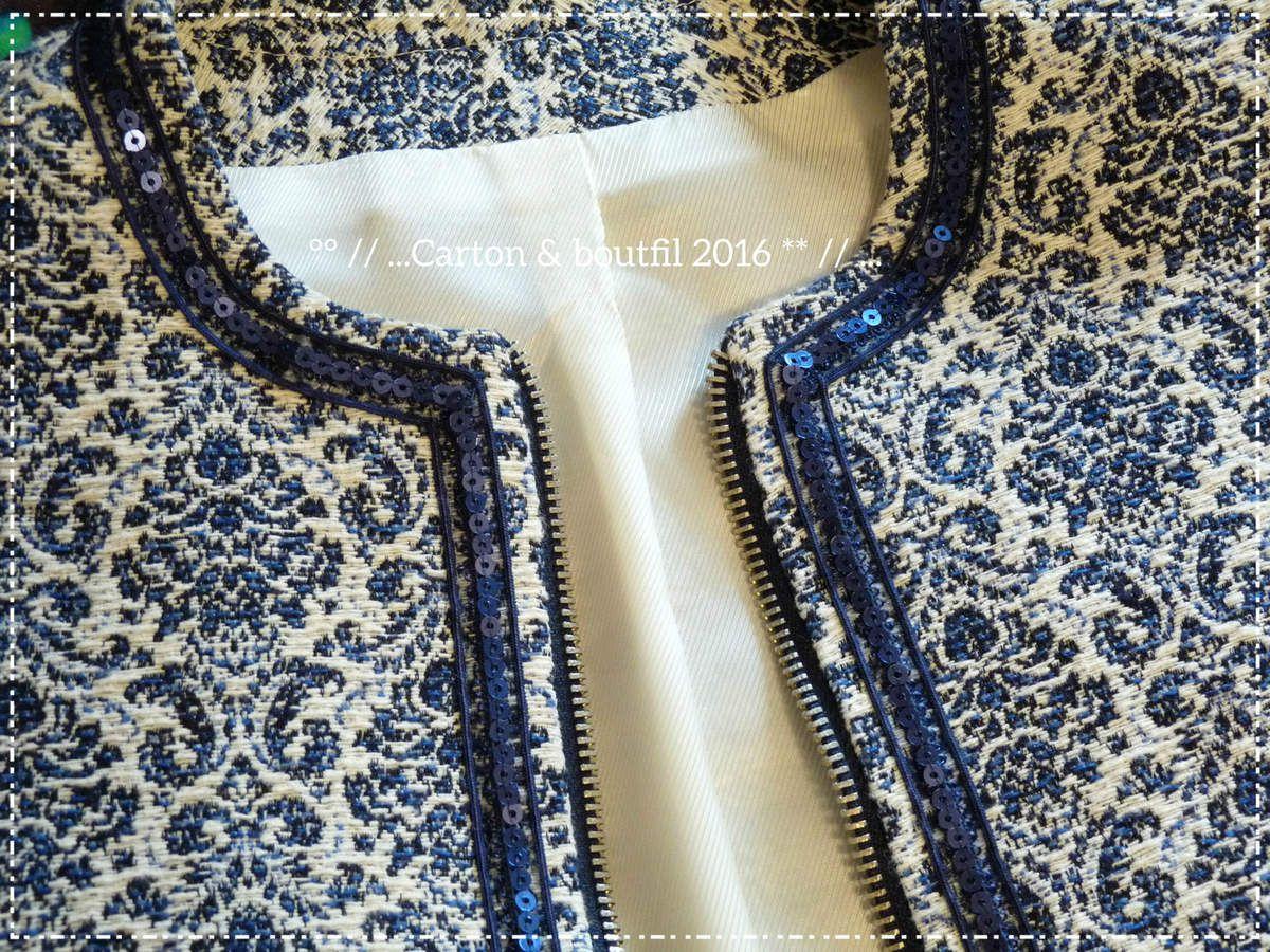&quot&#x3B;Ma petite veste bleue&quot&#x3B;