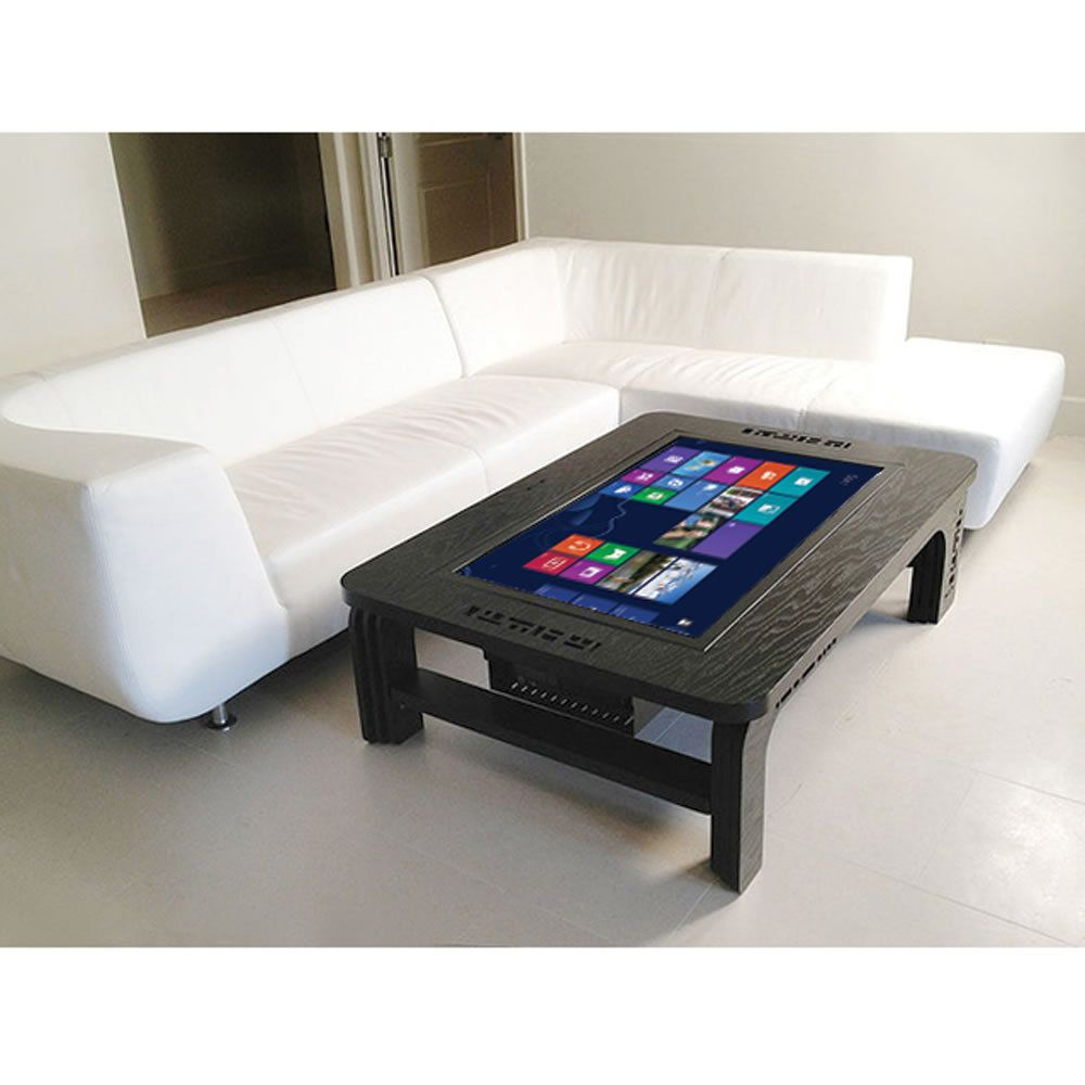 Une tablette num rique table basse cahier d 39 id es - Table basse avec tablette relevable ...