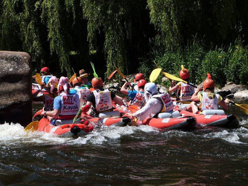 Photos 24 Heures Kayak 2015 : samedi