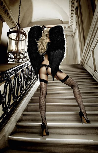 Femme - Blonde - Sexy - Angel - Picture - Free