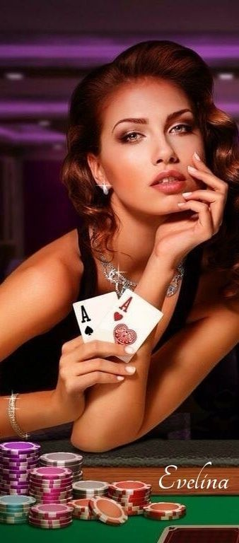Femme - Rousse - Sexy - Poker - Picture - Free
