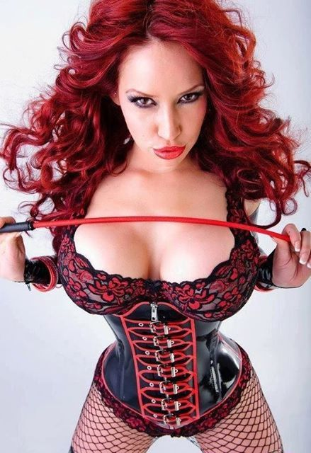 Femme - Rousse - Sexy - Latex - Picture - Free
