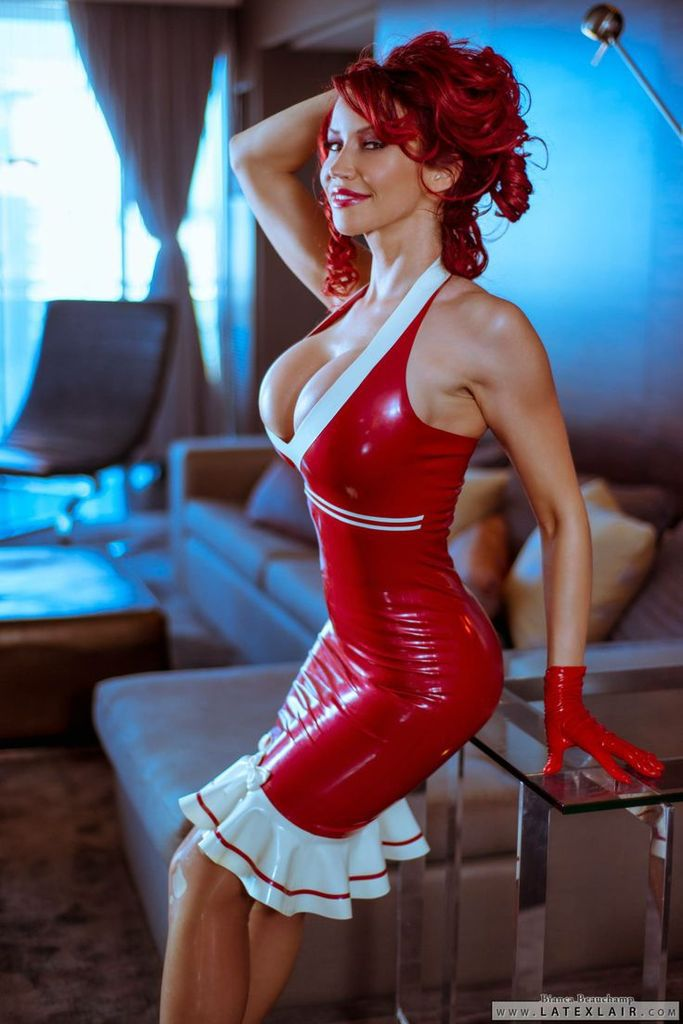 Bianca Beauchamp - Rousse - Sexy - Latex - Picture - Free