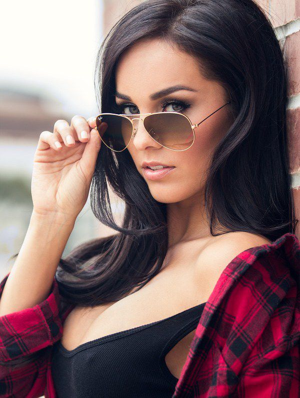 Femme - Brune - Sexy - Lunettes - Picture - Free