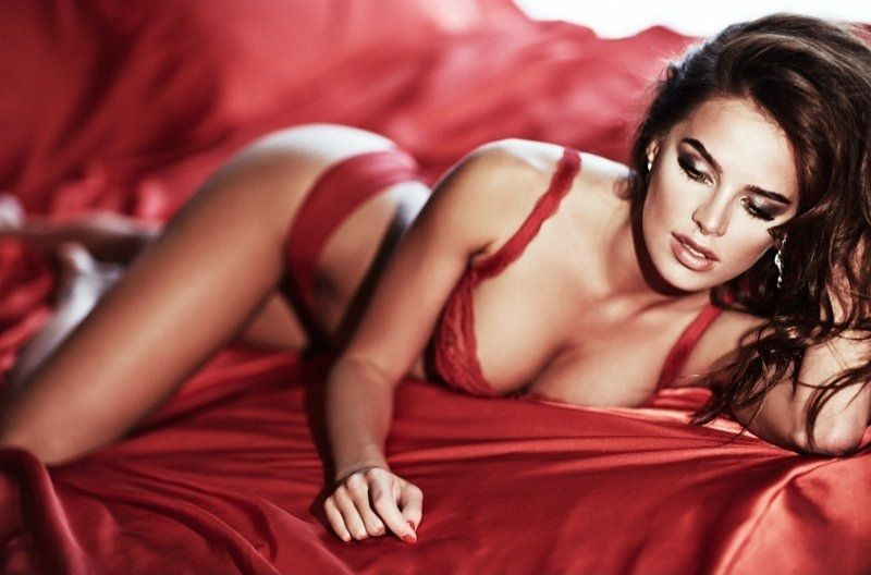 Anna Andres - Brune - Sexy - Lingerie - Picture - Free