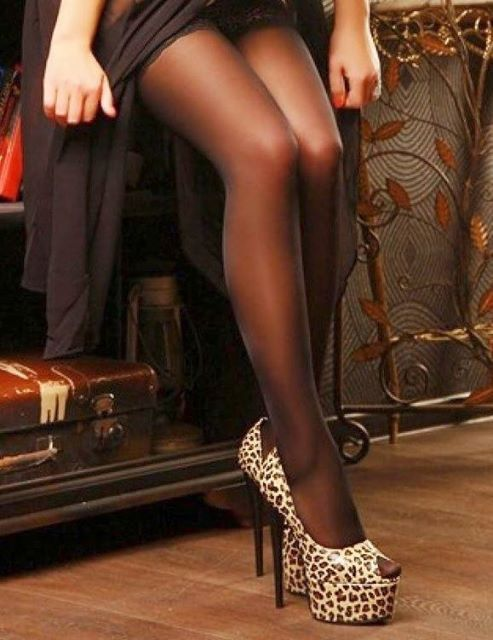 Femme - Sexy - Bas - Talons aiguilles - Picture - Free