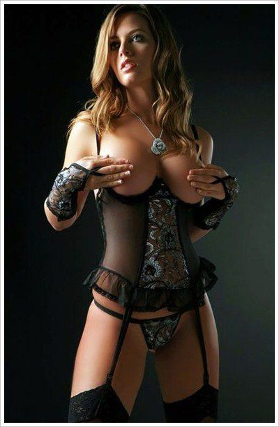 Femme - Blonde - Sexy - Lingerie - Picture - Fre