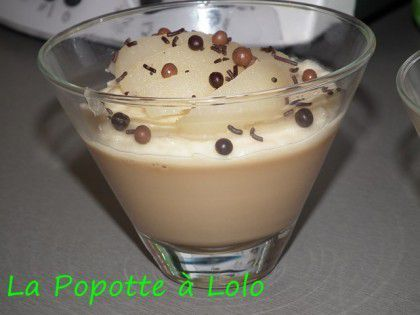 Duo Caramel et poires (thermomix)