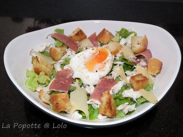 Salade César des mers