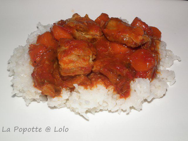 Sauté d'Agneau au Curry