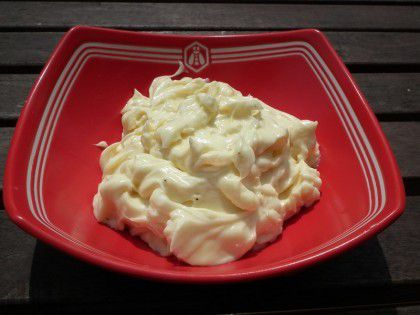 Mayonnaise (au thermomix)