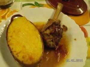 Manchons de canard, sauce madère