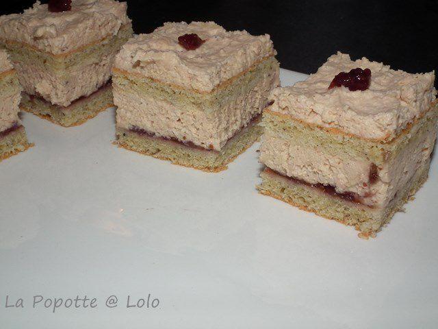 Opéra de foie gras et chutney de figues au thermomix