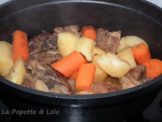 Irish stew ou ragoût d'agneau