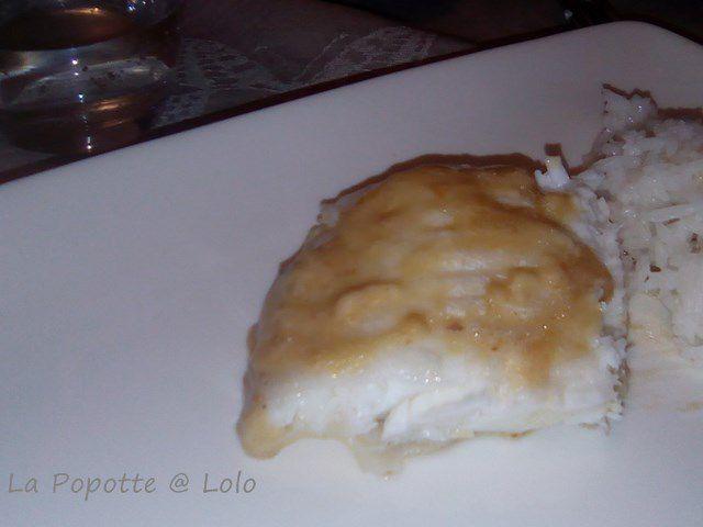 Filets de Congre à la crème et échalotes