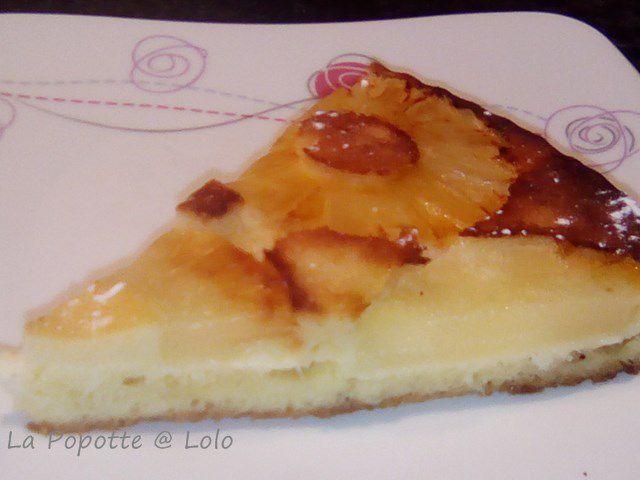 Gâteau renversé à l'Ananas (thermomix ou pas)