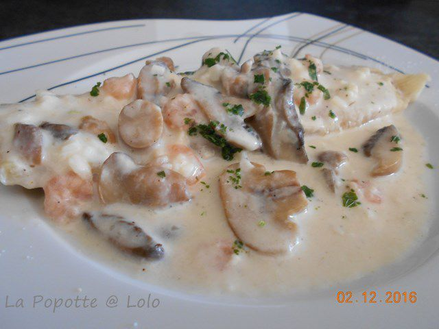 Filet de sole poché au lait (recette express)