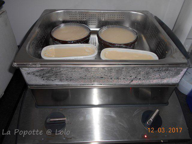 Crème aux oeufs (cuisson vapeur)